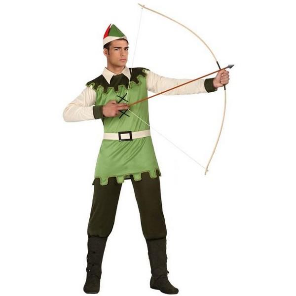 disfraz chico del bosque adulto - DISFRAZ DE ROBIN HOOD