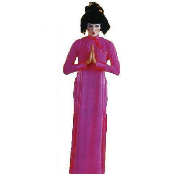 disfraz china fucsia - DISFRAZ DE CHINA FUCSIA MUJER