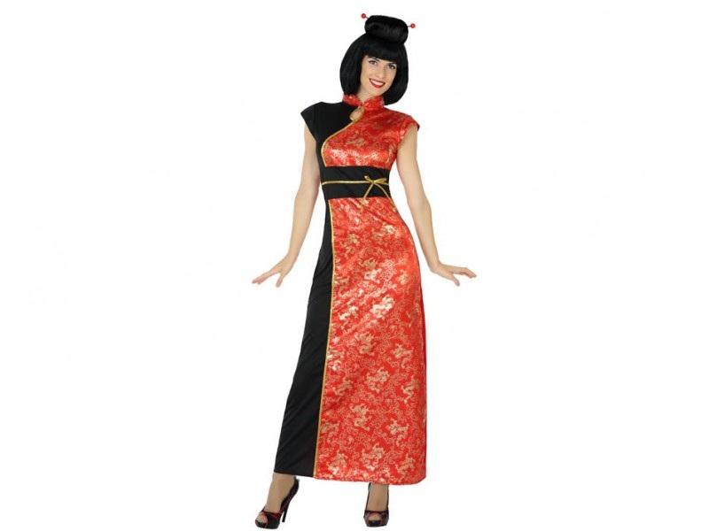 disfraz china mujer 1 - DISFRAZ DE CHINA MUJER