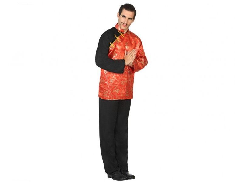 disfraz chino hombre - DISFRAZ DE CHINO HOMBRE