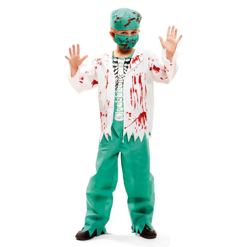 disfraz cirujano esqueleto - DISFRAZ DE CIRUJANO ESQUELETO INFANTIL