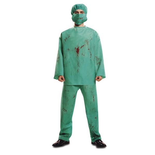 disfraz cirujano sangriento hombre - DISFRAZ DE CIRUJANO SANGRIENTO HOMBRE