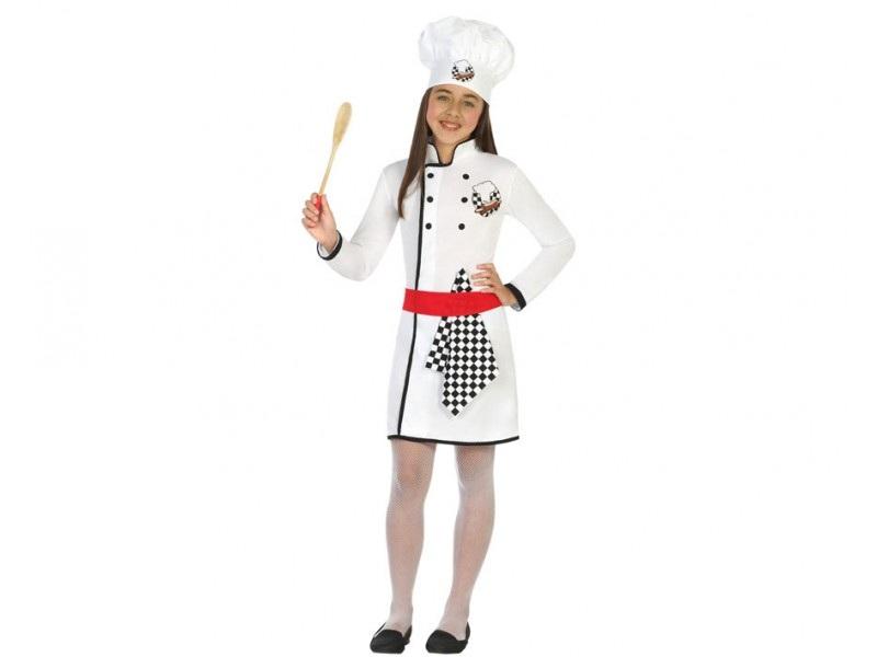 disfraz cocinera niña - DISFRAZ DE COCINERA NIÑA