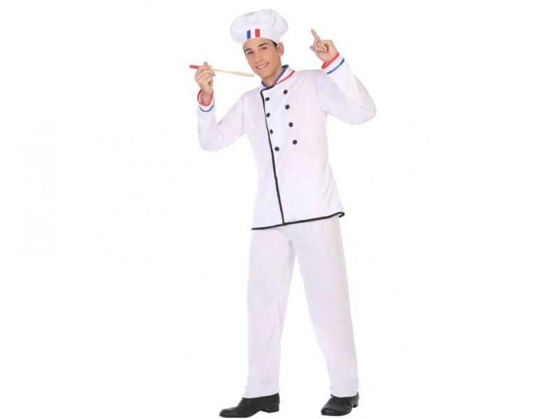 disfraz cocinero hombre 1 - DISFRAZ DE COCINERO HOMBRE