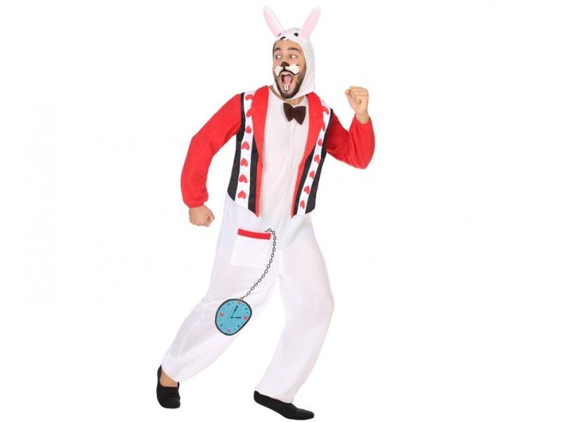 disfraz conejo de alicia adulto - DISFRAZ DE CONEJO DE ALICIA ADULTO