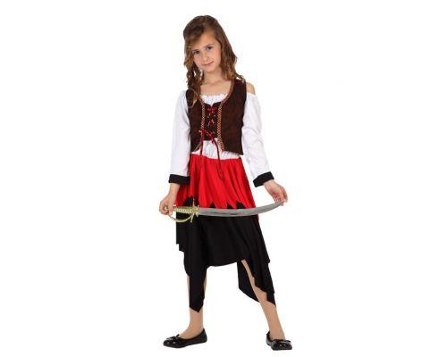 disfraz corsaria infantil - DISFRAZ DE CORSARIA INFANTIL