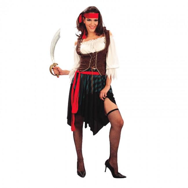 disfraz corsaria mujer - DISFRAZ DE PIRATA CORSARIA MUJER
