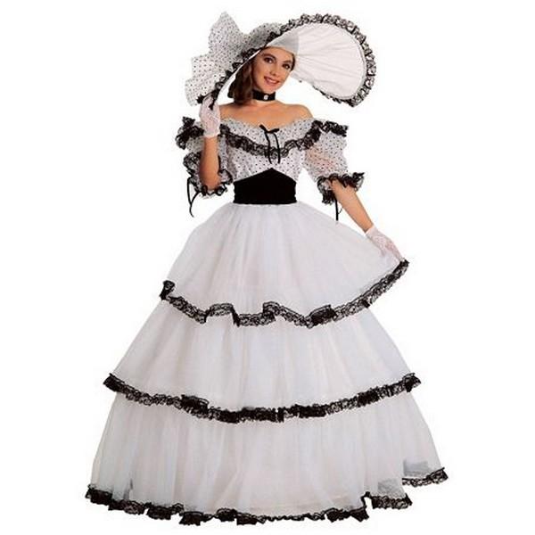 disfraz dama sureña niña - DISFRAZ DE DAMA SUREÑA NIÑA
