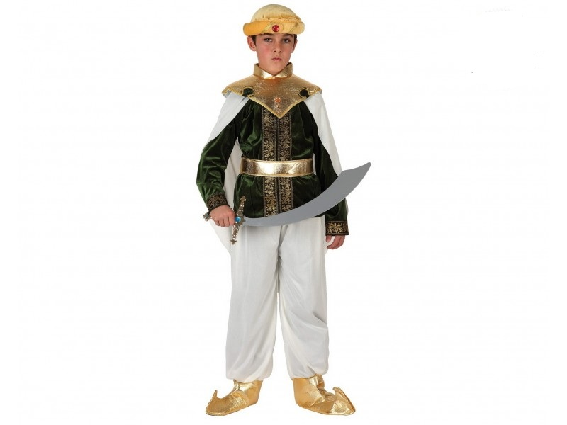 disfraz de arabe nino talla 1 3 1 - DISFRAZ DE ARABE INFANTIL