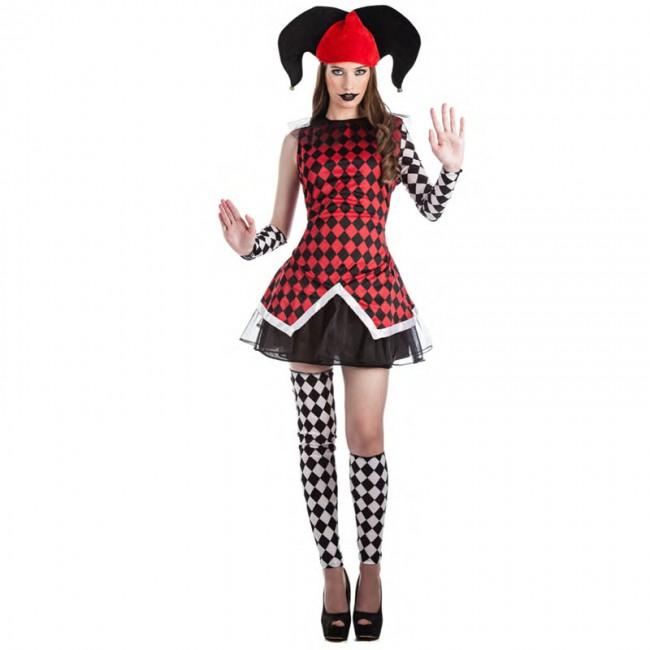 disfraz de arlequina para mujer - DISFRAZ DE ARLEQUIN MUJER