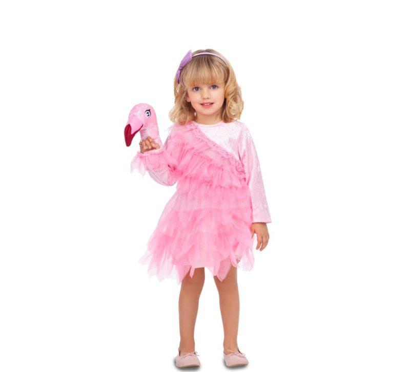 disfraz de bailarina flamingo infantil 800x727 - DISFRAZ DE BAILARINA FLAMINGO BEBÉ