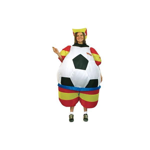 disfraz de balón hinchable - DISFRAZ DE BALON ESPAÑA ADULTO