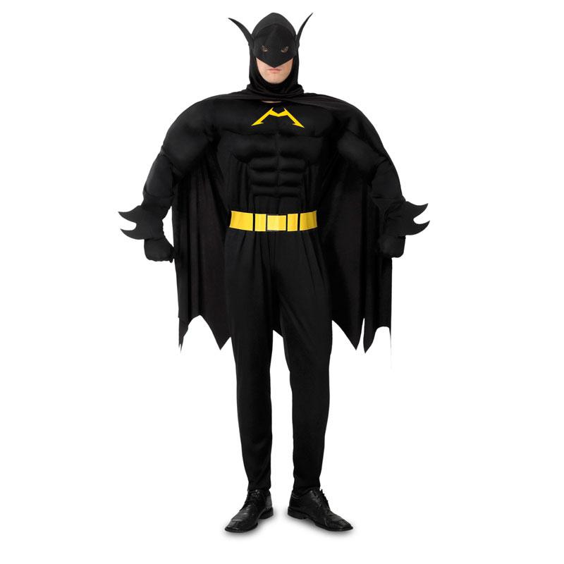 disfraz de batman musculoso adulto - DISFRAZ DE BATMAN MUSCULOSO PARA ADULTO