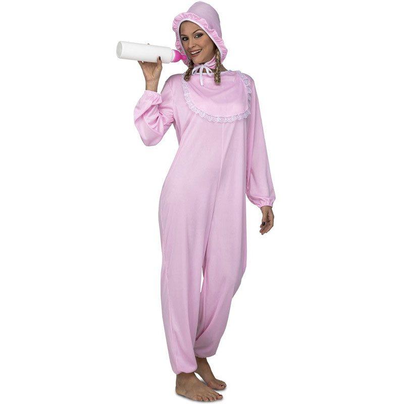 disfraz de bebé rosa para mujer 800x800 - DISFRAZ DE BEBÉ ROSA MUJER