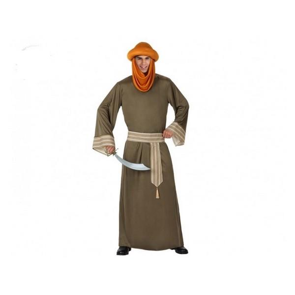 disfraz de berebere adulto t 3 - DISFRAZ DE JEQUE ÁRABE