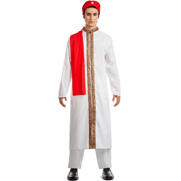 disfraz de bollywood blanco hombre - DISFRAZ  BOLLYWOOD BLANCO HOMBRE