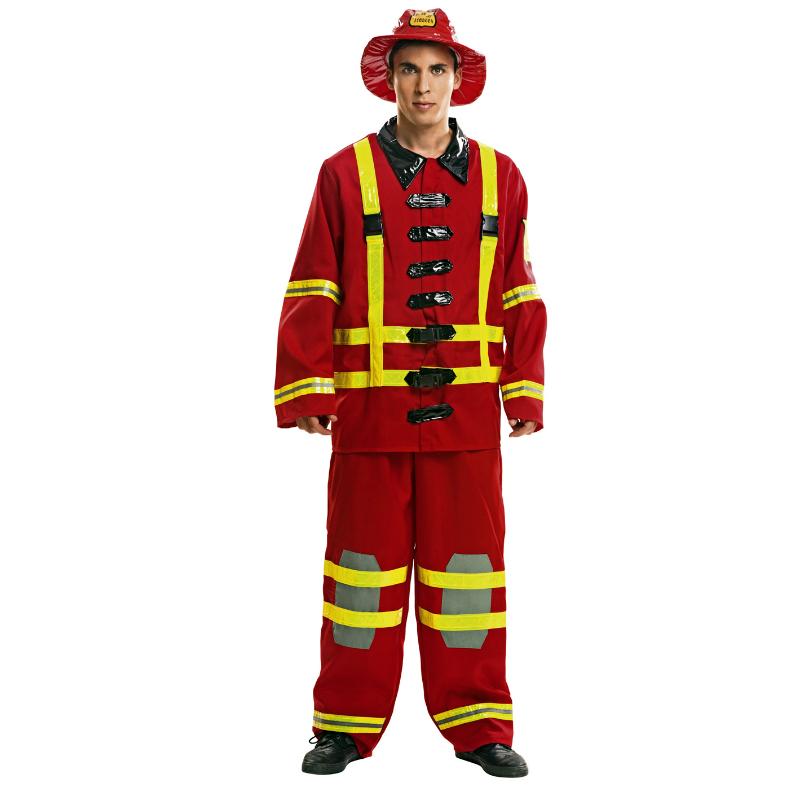 disfraz de bombero adulto - DISFRAZ DE BOMBERO ADULTO