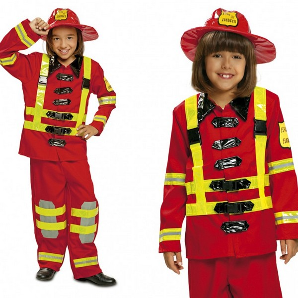 disfraz de bombero infantil - DISFRAZ DE BOMBERO INFANTIL