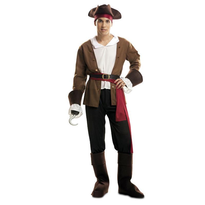 disfraz de bucanero adulto - DISFRAZ DE BUCANERO HOMBRE