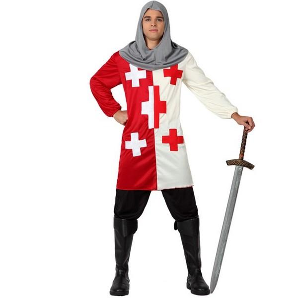 disfraz de caballero de cruzadas adulto - DISFRAZ CABALLERO CRUZADAS