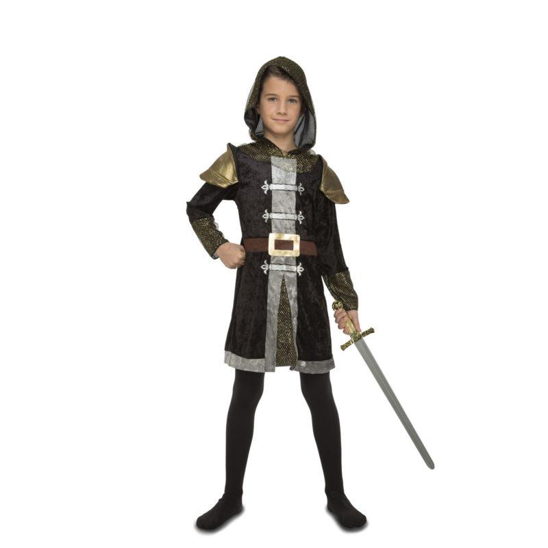 disfraz de caballero medieval capucha niño 800x800 - DISFRAZ DE CABALLERO MEDIEVAL NIÑO