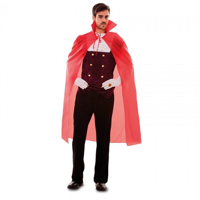 disfraz de capa roja para adulto - CAPA ROJA ADULTO