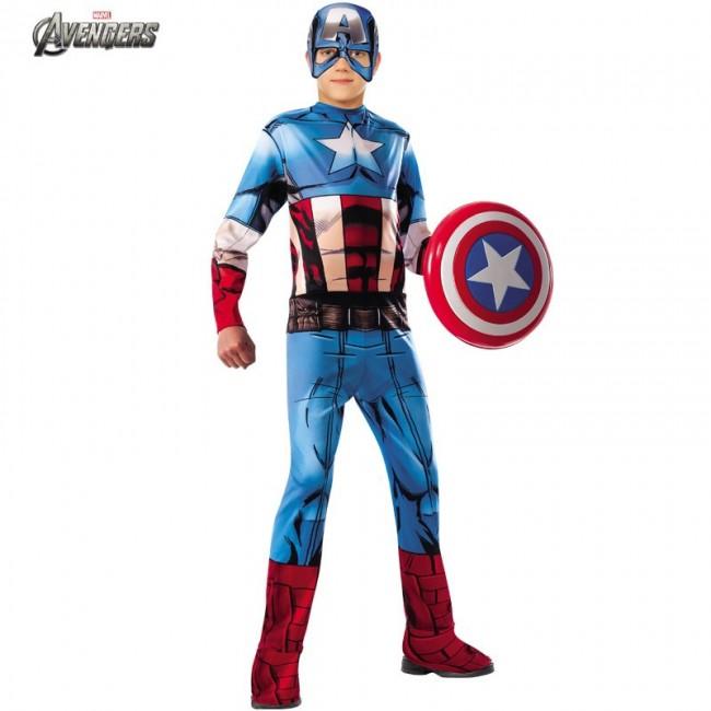 disfraz de capitan america niño - DISFRAZ DE CAPITAN AMERICA NIÑO