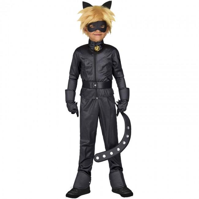 disfraz de cat noir para nino - DISFRAZ DE CAT NOIR NIÑO