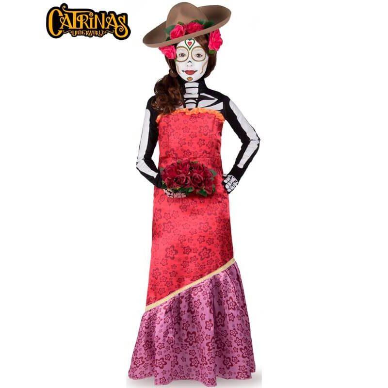 disfraz de catrina cassandra para mujer 800x800 - DISFRAZ DE CATRINA CASSANDRA MUJER
