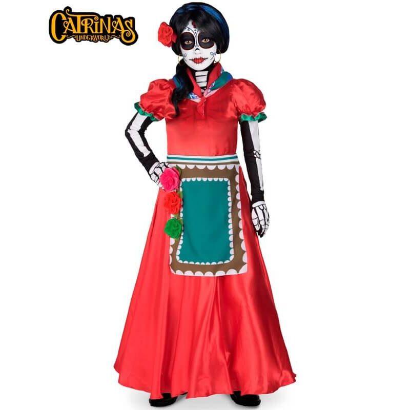 disfraz de catrina rosabella para mujer 800x800 - DISFRAZ DE CATRINA ROSABELLA MUJER