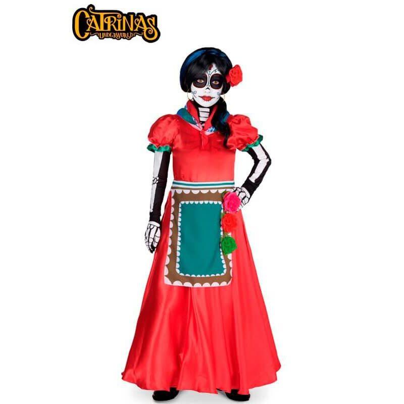 disfraz de catrina rosabella para nina 800x800 - DISFRAZ DE CATRINA ROSABELLA NIÑA