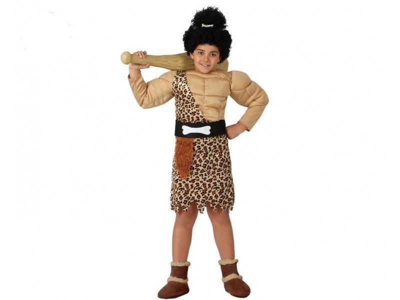 disfraz de cavernícola musculo niño 800x600 - DISFRAZ DE CAVERNÍCOLA MUSCULOSO NIÑO
