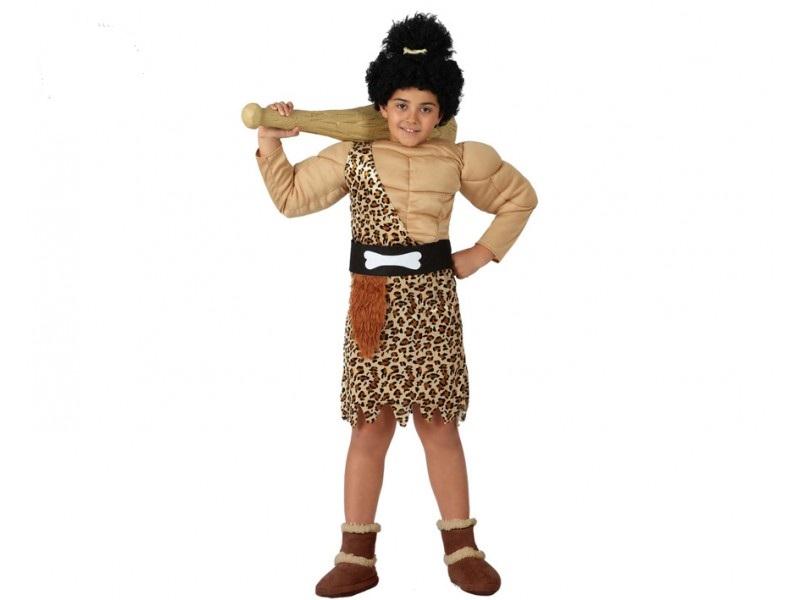 disfraz de cavernícola musculo niño - DISFRAZ DE CAVERNICOLA MUSCULOSO NIÑO