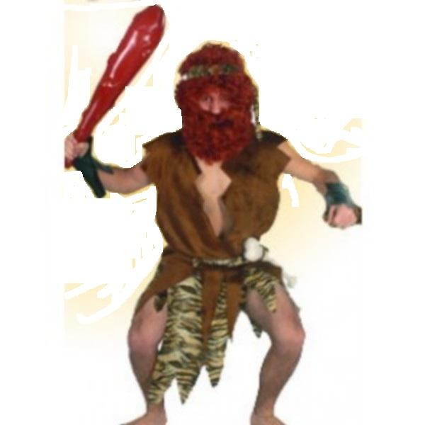 disfraz de cavernicola hombre - DISFRAZ DE CAVERNICOLA LUJO