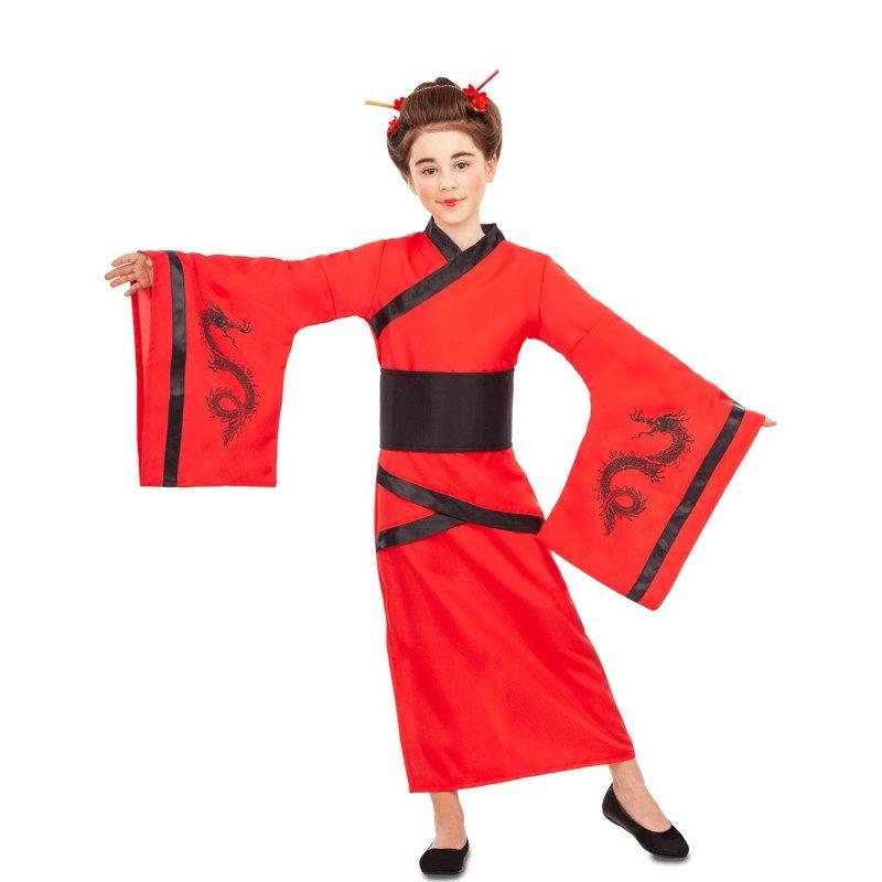 disfraz de china rojo y negro para nina 800x800 - DISFRAZ DE CHINA ROJO NIÑA