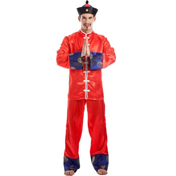 disfraz de chino para adulto  - DISFRAZ DE CHINO HOMBRE