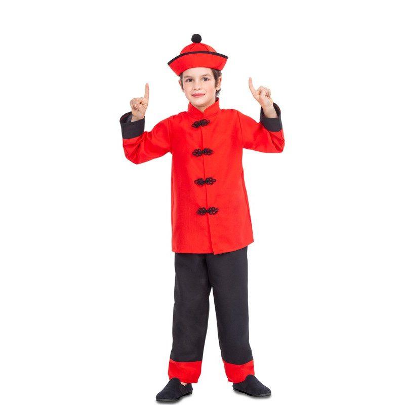 disfraz de chino rojo y negro para nino 800x800 - DISFRAZ DE CHINO DRAGÓN NIÑO