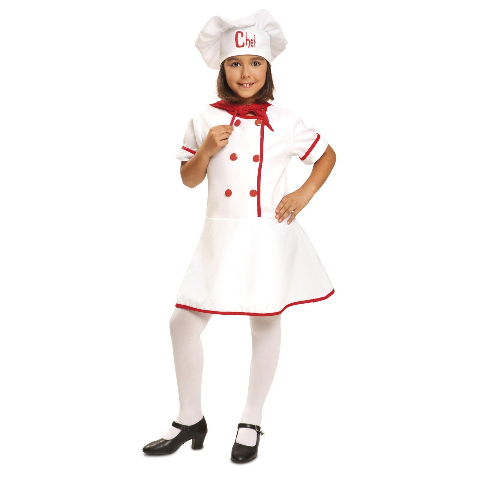 disfraz de cocinera niña 200953mom - DISFRAZ DE COCINERA NIÑA