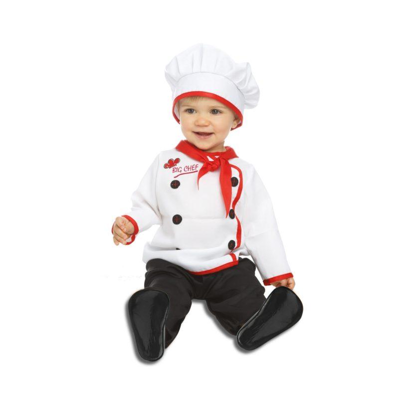 disfraz de cocinero bebé 800x800 - DISFRAZ DE COCINERO BEBE
