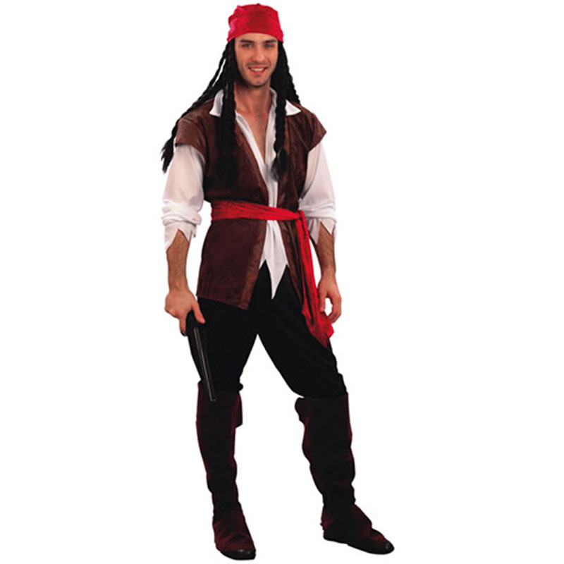 disfraz de corsario adulto - DISFRAZ DE CORSARIO ADULTO