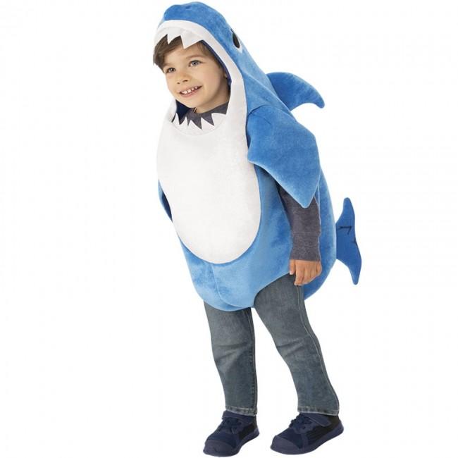 disfraz de daddy shark infantil musical - DISFRAZ AZUL DE DADDY SHARK MUSICAL INFANTIL