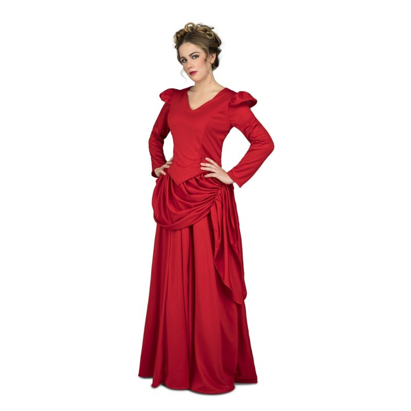 disfraz de dama roja del oeste mujer 800x800 - DISFRAZ DE DAMA ROJA DEL OESTE MUJER