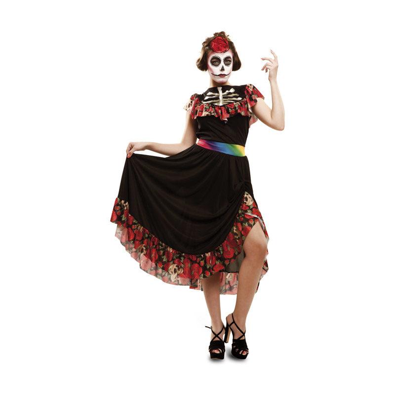 disfraz de dia de los muertos para mujer talla m l de halloween 62861 800x800 - DISFRAZ DIA DE LOS MUERTOS