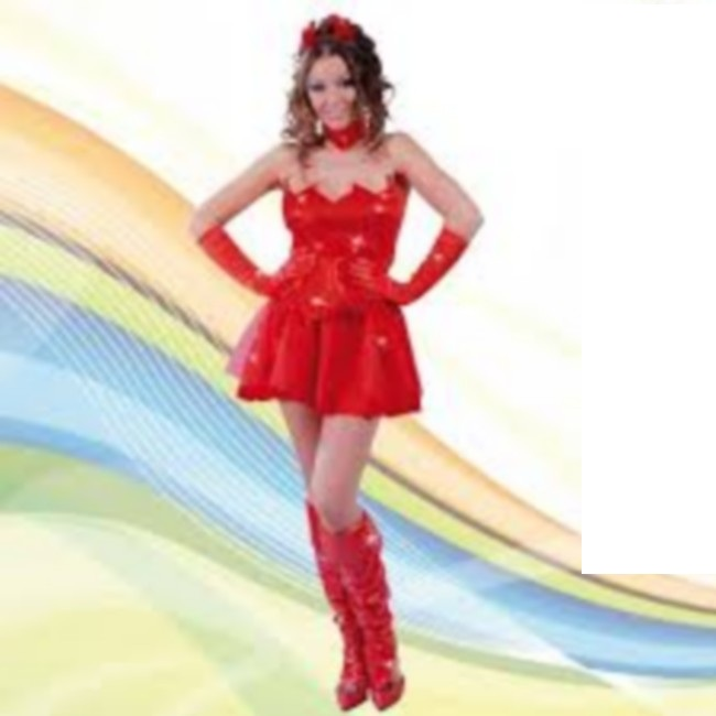 disfraz de diablesa mujer 80443 - DISFRAZ DE SHINNY DEVIL MUJER
