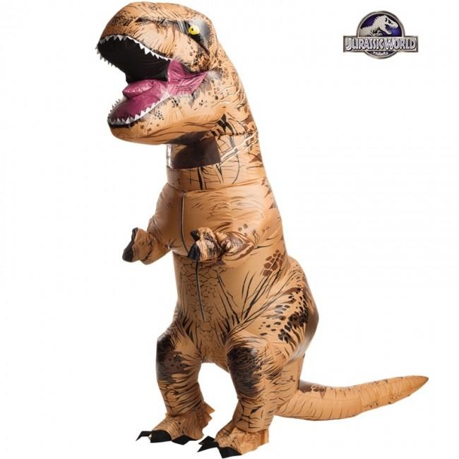 disfraz de dinosaurio trex hinchable adulto - DISFRAZ DE TIRANOSAURIO REX HINCHABLE PARA ADULTO