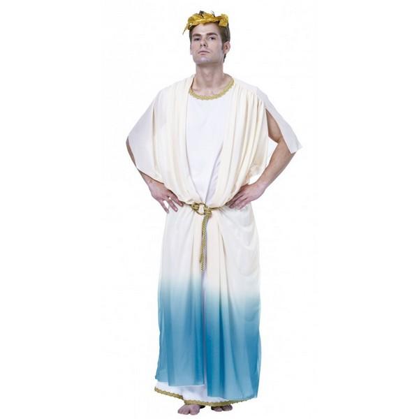disfraz de dios griego 1 - DISFRAZ DE DIOS GRIEGO HOMBRE