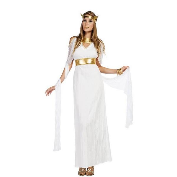 disfraz de diosa largo para mujer  - DISFRAZ DE DIOSA LARGO MUJER