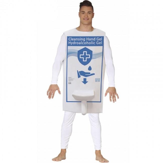disfraz de dispensador gel hidroalcohólico para adulto - DISFRACES HOMBRE