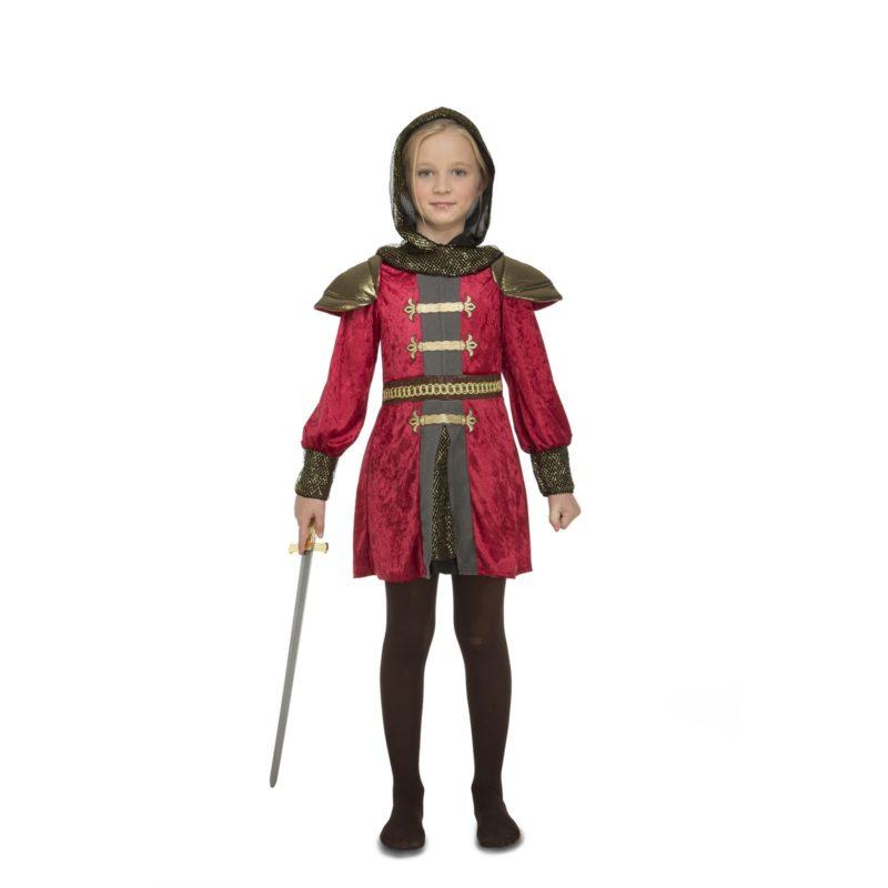 disfraz de doncella medieval niña 800x800 - DISFRAZ DE  GUERRERA MEDIEVAL NIÑA