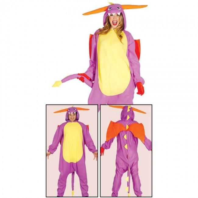 disfraz de dragon kigurumi adulto 1 0 20128 1 - DISFRAZ DE DRAGÓN KIGURUMI